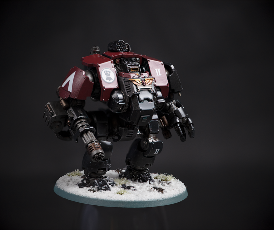 Warhammer intercessor dreadnaught: uitgebreid