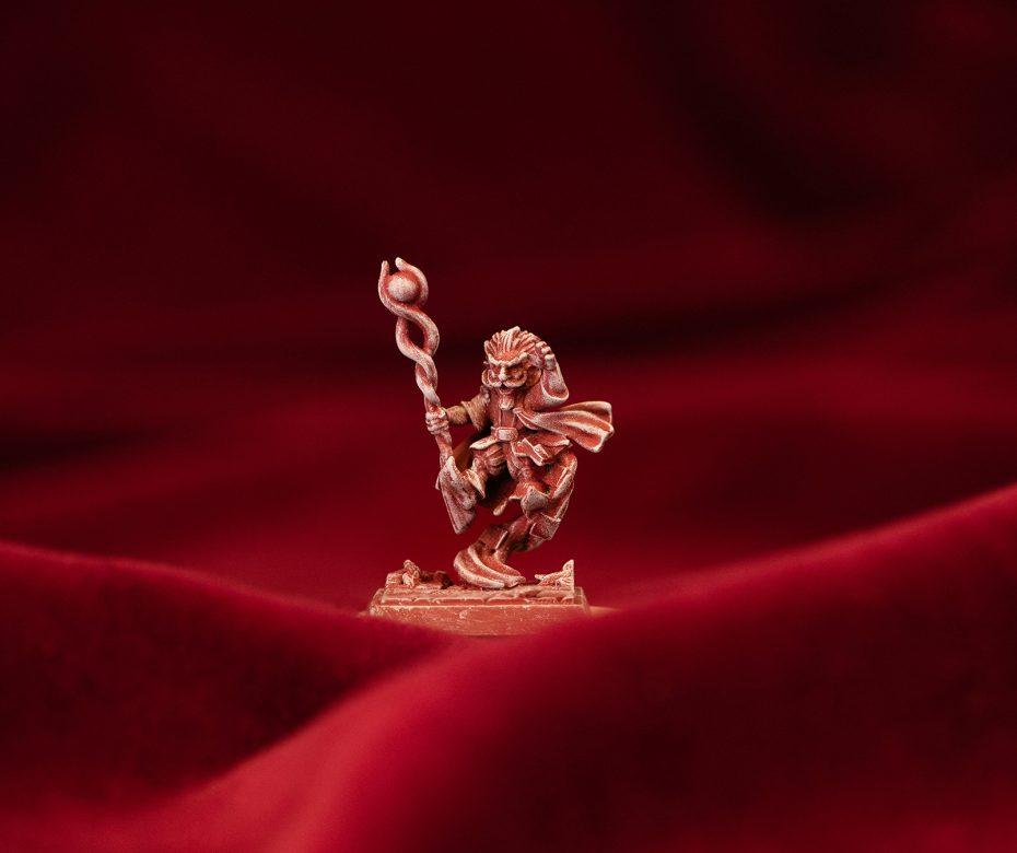 Gnome wizard: drybrush