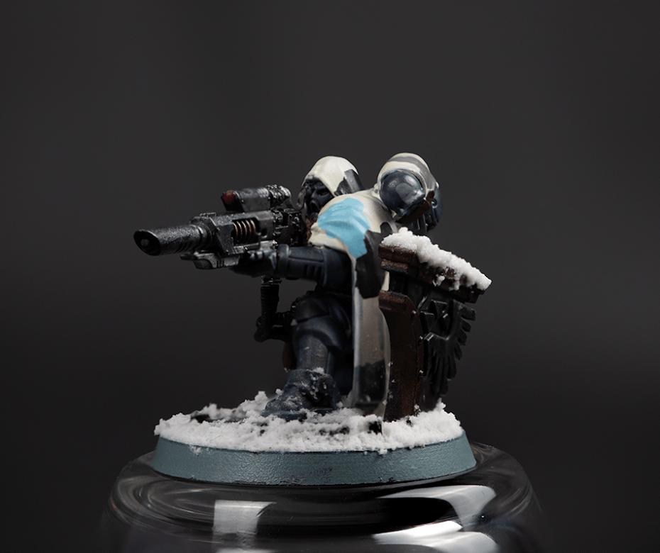 Warhammer sniper: uitgebreid
